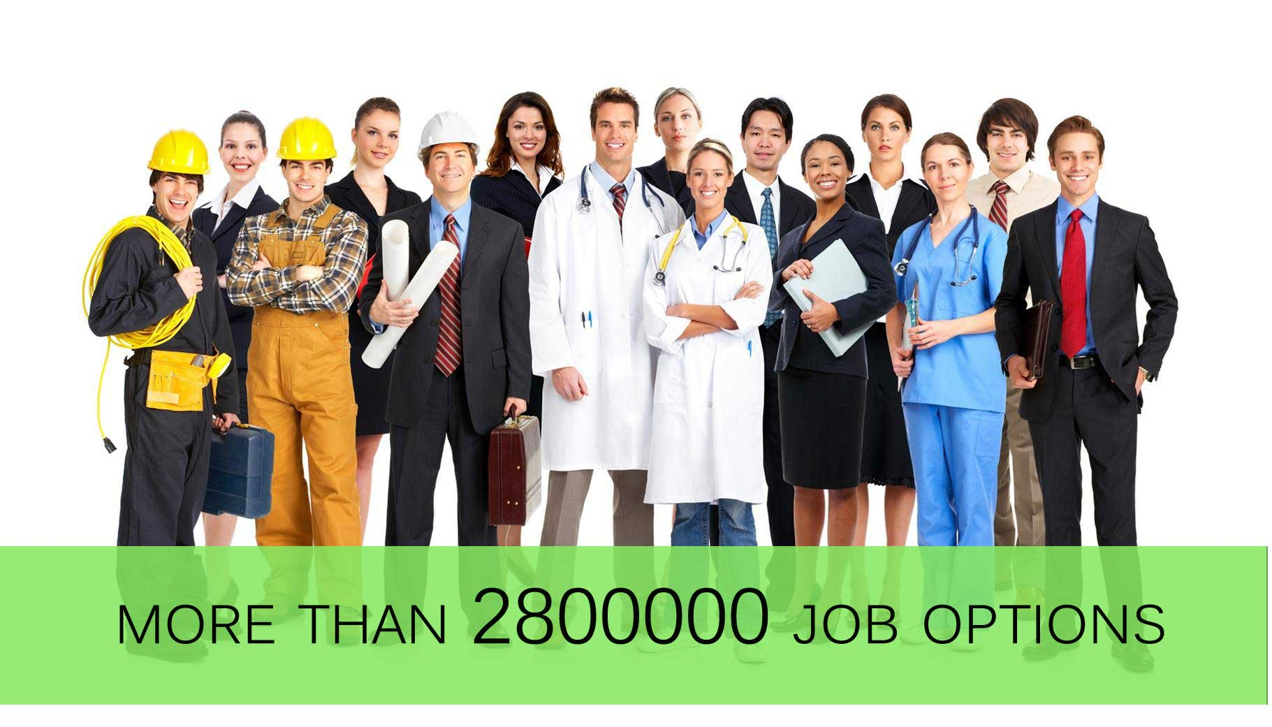 The only job portal which gives more than 2800000 job options ...
